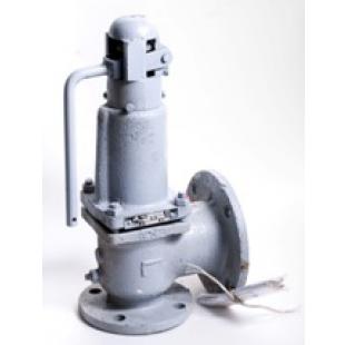 Клапан предохранительный пружинный с ручным подрывом, пружина 78