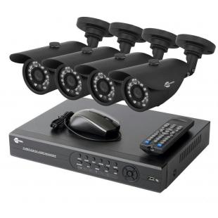 Продаем комплекты видеонаблюдения с доставкой во  все регионы России .На 2 , на 4 ,на 8, на 16 камер