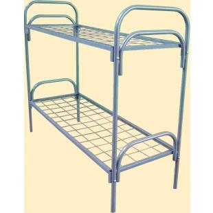 Кровати одноярусные металлические, кровати металлические двухъярусные, кровати для больниц, кровати для санаториев, кровати для лагерей. оптом.