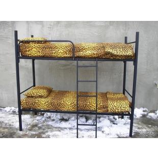 Одноярусные металлические кровати для вагончиков, кровати одноярусные, кровати армейские, кровати для общежитий, кровати для больниц, кровати двухъярусные лагерей. Опт.