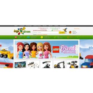 Продам интернет магазин по продаже конструкторов лего,  и других игрушек.