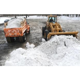 Уборка и вывоз снега, строительного мусора