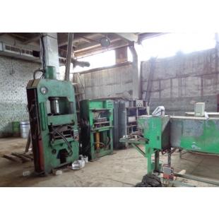 Производственная линия по выпуску полимер песчанных изделий