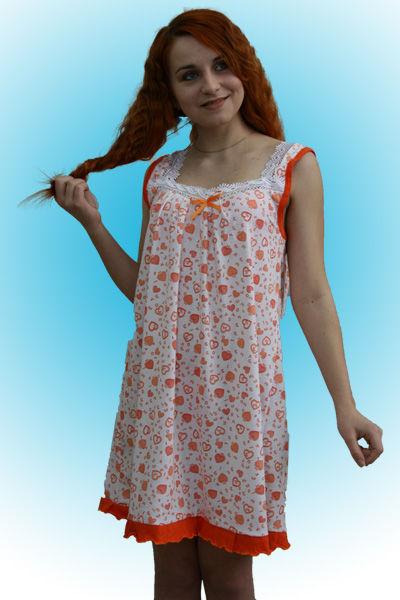 Сорочка женская ночная своими руками фото