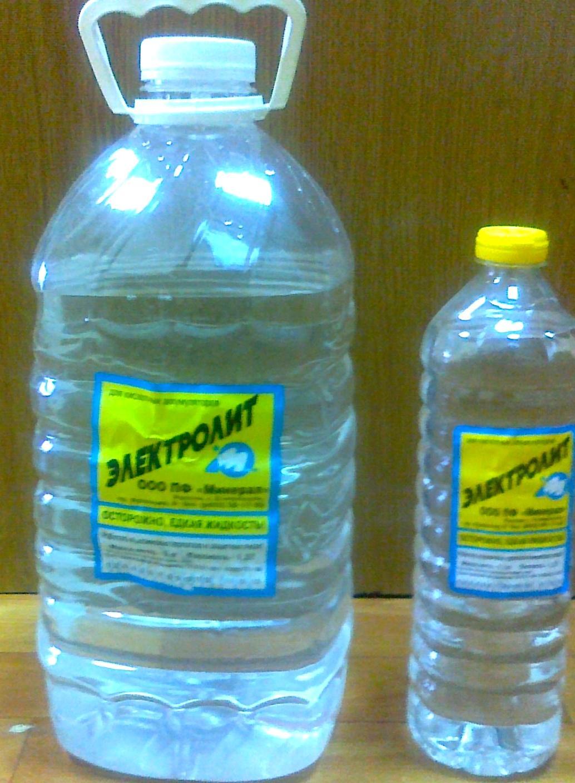 Как получить дистиллированную воду в домашних условиях в аккумулятор