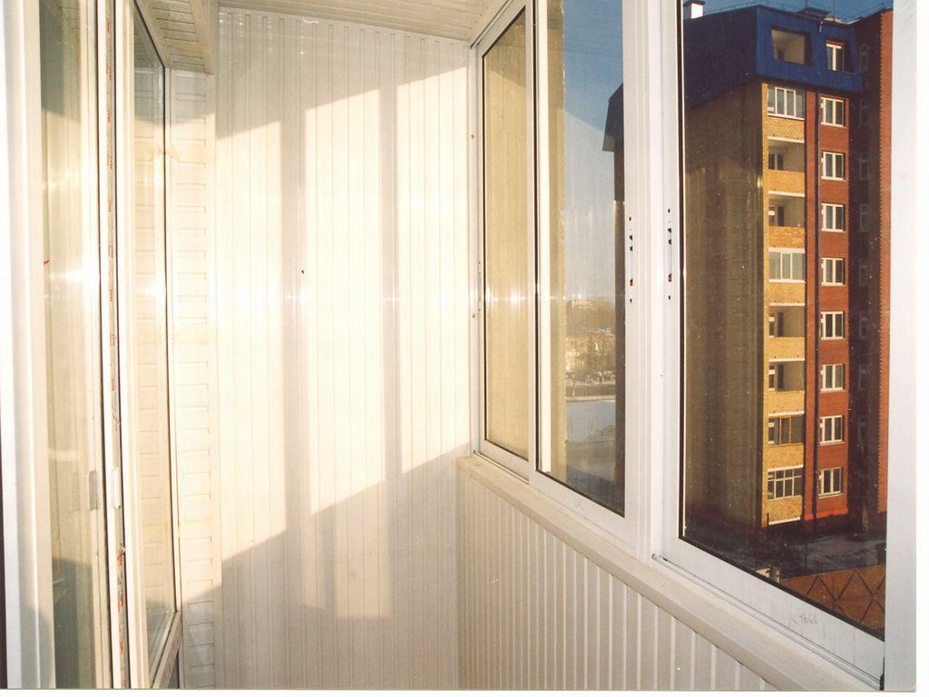 Обшивка лоджий панелями пвх + утепление :: ремонт, строитель.