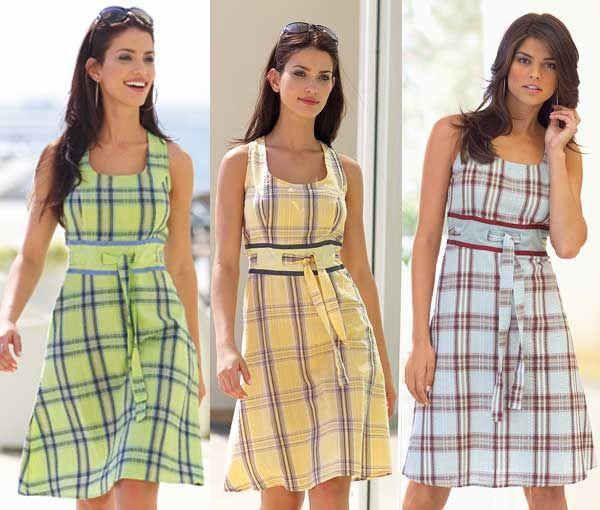 Сшить летнее платье