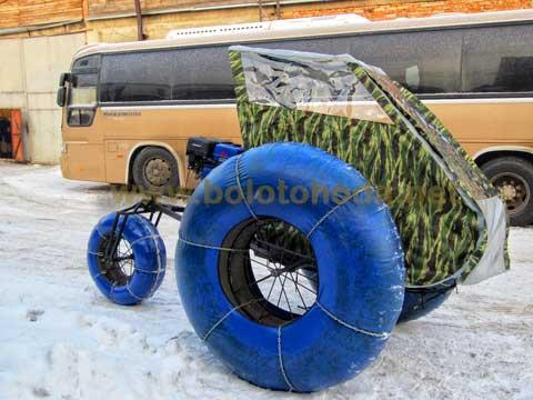 Пневмоходы на шинах низкого давления