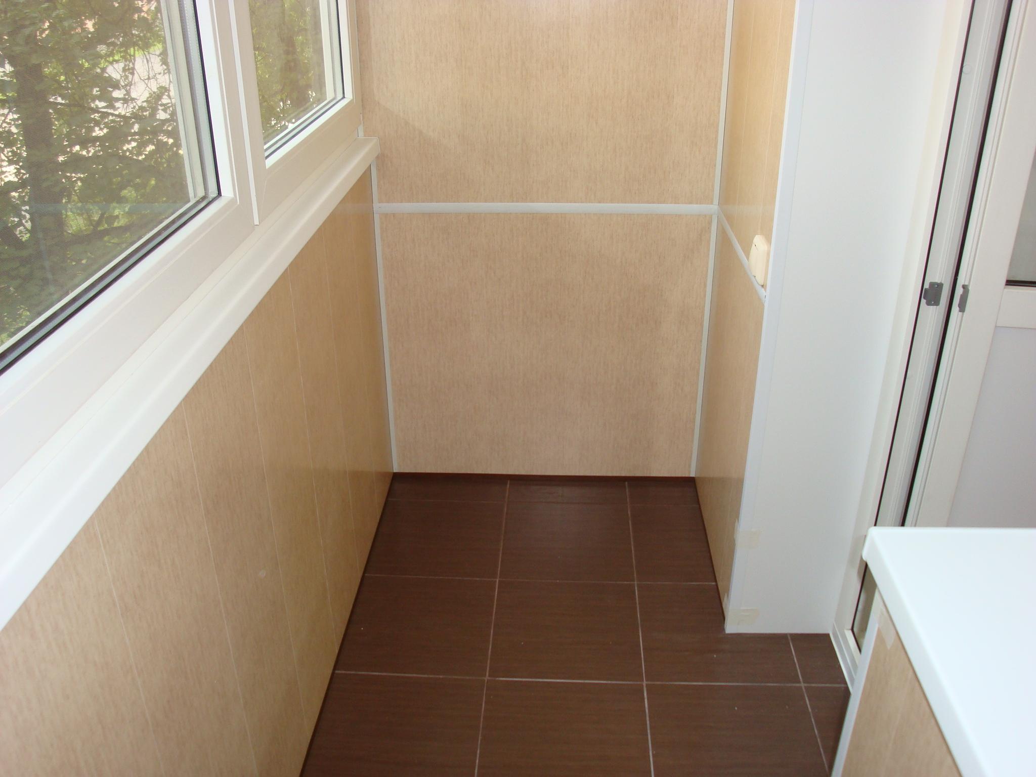 Профессиональная обшивка балконов и лоджий :: окна и балконы.