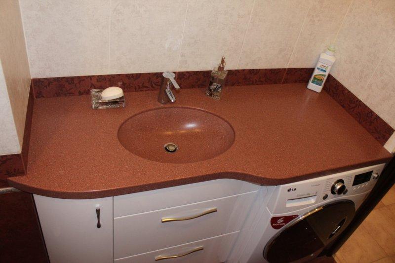 улица раковина из искусственного камня в ванную подглядывание которое
