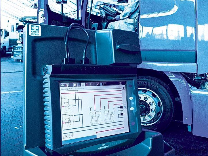 Компьютерная диагностика двигателя грузового автомобиля