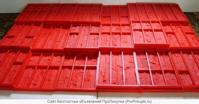 Форма для изготовления искусственного кирпича