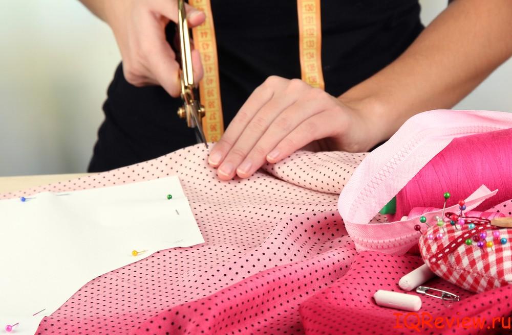 Обучение шитью белья