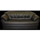 Кожаный диван двухместный серии Ноктюрн.