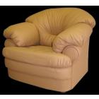 Кожаное кресло для отдыха серии Ноктюрн.