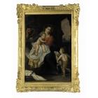 Антикварная живопись 19 век Франция