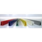 П-образные окантовочные цветные профили