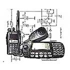 Различные радиостанции и другое оборудование радиосвязи.