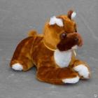 Детская мягкая игрушка собака боксер Леонид