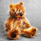 Детская мягкая игрушка мишка Эдуард