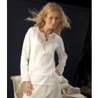 Блуза льняная с ручной вышивкой, модель 7-10