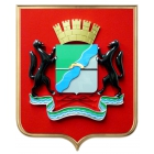 Герб Новосибирска 42х50см