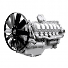 Двигатели ЯМЗ-850 с ТКР, рабочим объёмом 25,86
