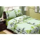 Комплект постельного белья 2-спальный на молнии, поплин