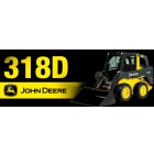 Мини погрузчик John Deere 318 D