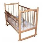 Кроватка Мишутка (14 колес)