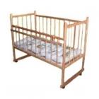 Кроватка Мишутка (13 колес, качалка, эконом)
