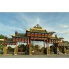 Золотые Буддийский храмы Калмыкии