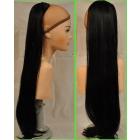 Хвосты и шиньоны из натуральных и искусственных волос
