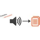 Расшифровка аудио файлов