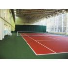 Строительство теннисного корта – наливное резиновое покрытие, теннисит,  Хард, искусственная трава