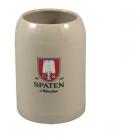 Керамическая фирменная пивная кружка Spaten (Шпатен) 0.5 литра