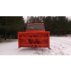 Шнекороторный снегоочиститель на базе Камаз-43118