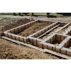 Строительство фундамента, цокольного этажа