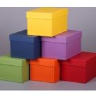 Коробки картонные разноцветные 180*100*100