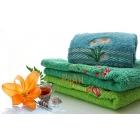 Полотенца махровые  оптом с вышивкой