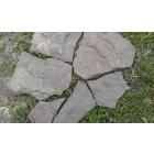 Камень натуральный Дракон серо-зелёный природный пластушка песчаник
