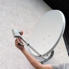Установка спутникового ТВ в кафе и загородном доме