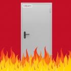 Противопожарные металличесие двери EI-30, EI-60, EI-90 от Завода изготовителя