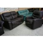 Кожаные раскладные диваны и кресла реклайнеры
