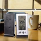 Новые, в коробке, Домашние часы - будильник-метеостанция