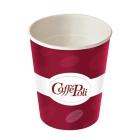 Стакан бумажный с логотипом Кофе Поли