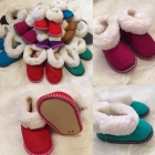 Домашняя обувь из овчины от производителя