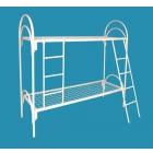 Двухъярусные металлические кровати, трёхъярусные металлические кровати, кровати металлические одноярусные с ДСП спинками