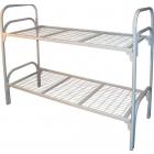 Трёхъярусные металлические кровати для общежитий, кровати металлические для санаториев, кровати для гостиниц, кровати металлические для студентов, дёшево.