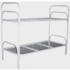 Железные двухъярусные кровати для бытовок, кровати для общежитий,  металлические кровати для интернатов, школ.